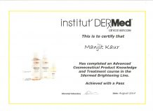 Certificate -2-Manjit Beauty Salon